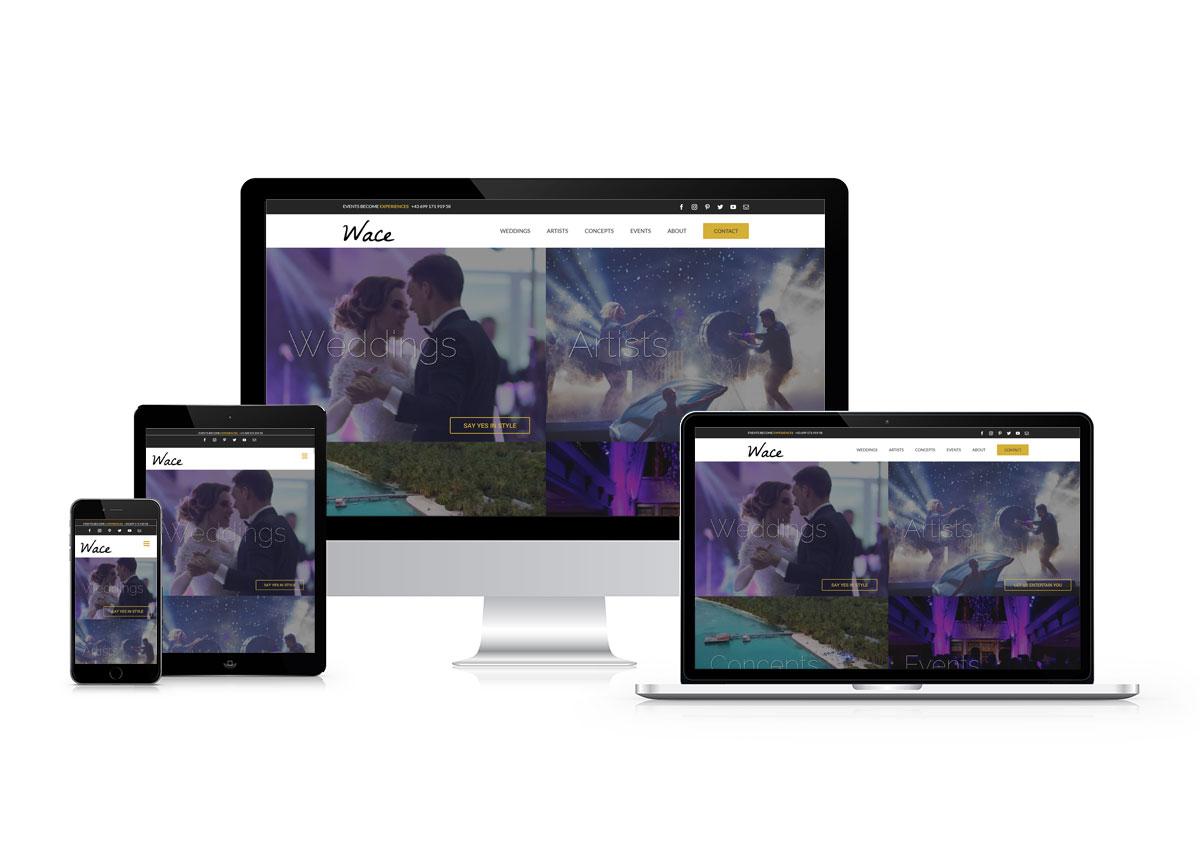 www.wace.agency responzívny dizajn