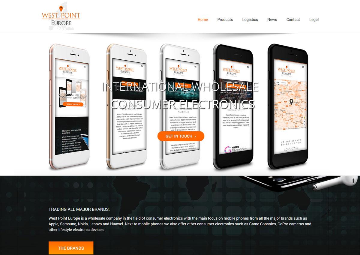 www.westpoiteurope.com homepage