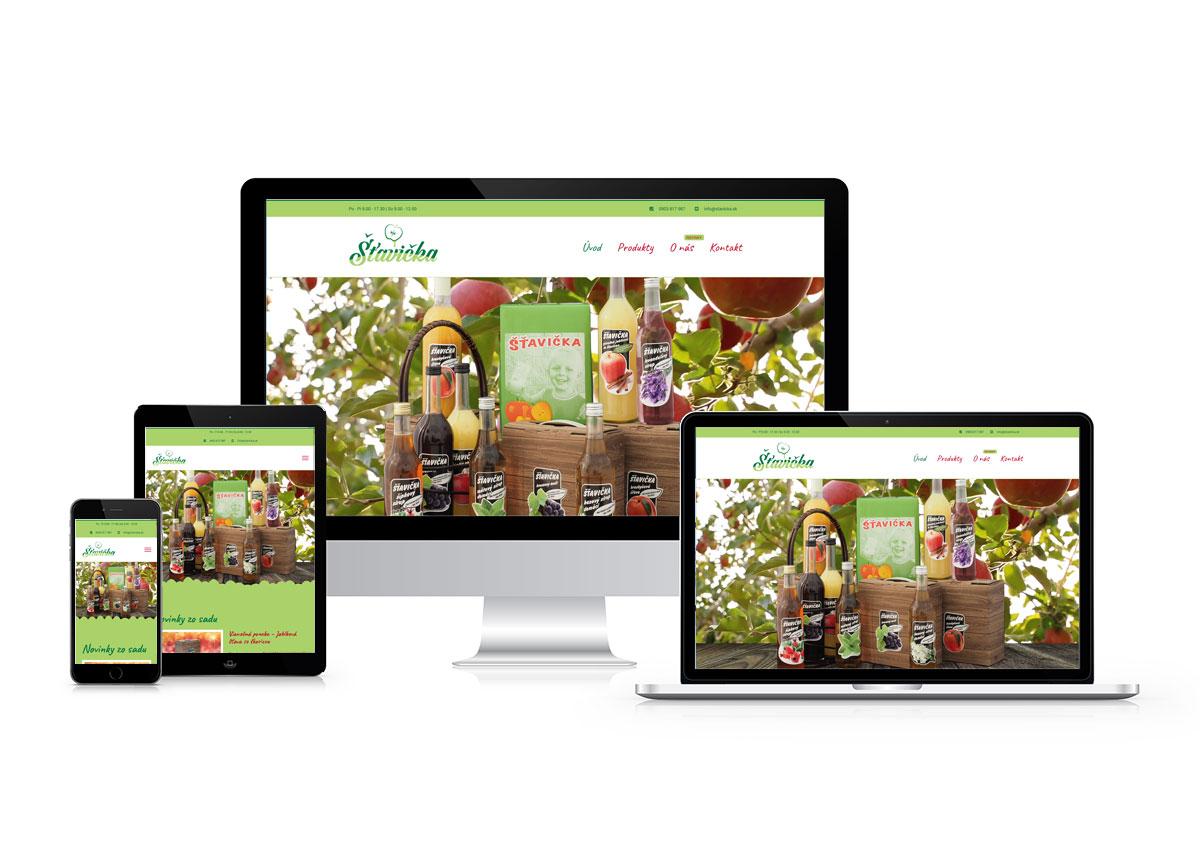 Jednoduchá webstránka pre farmára